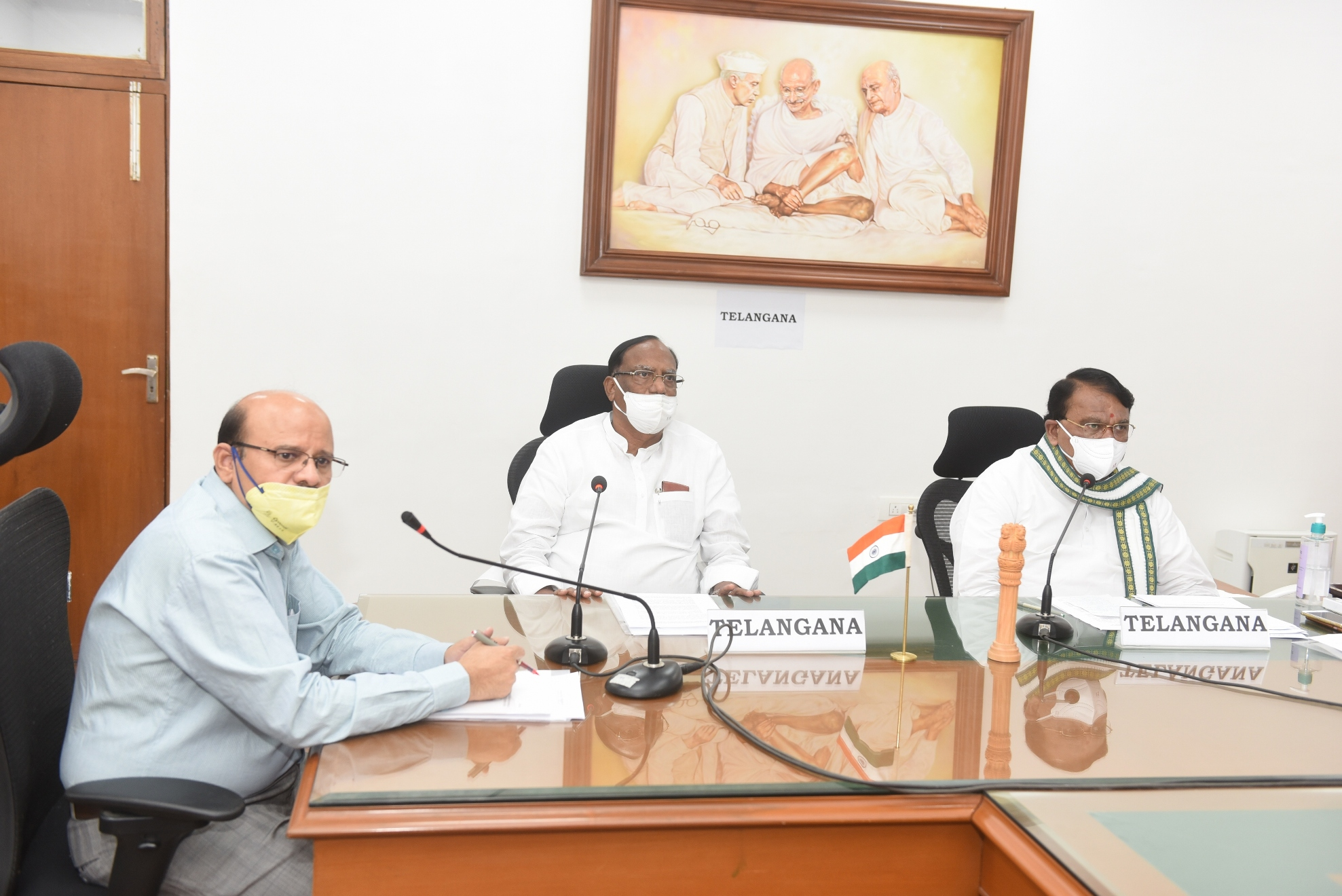 https://legislation.telanganalegislature.org.in//PreviewPage.tsl?filePath=basePath&fileName=Gallery/Presiding Officers of Telangana Legislature Video Conference with Honourable Speaker, Lok Sabha on 21.04.2020./5.JPG