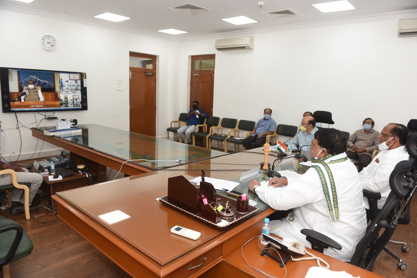https://legislation.telanganalegislature.org.in//PreviewPage.tsl?filePath=basePath&fileName=Gallery/Presiding Officers of Telangana Legislature Video Conference with Honourable Speaker, Lok Sabha on 21.04.2020./7.JPG